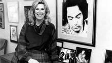 CTV vice president of Network Relations, Marjorie Anthony Linden, Oct. 21, 1982. When Ms. Anthony Linden was at CTV, the sign on her door read 'Vice Princess.' (Thomas Szlukovenyi/The Globe and Mail)
