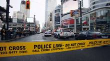 A five-year-old Toronto girl has died after being struck by a garbage truck in Toronto on Thursday. (Mark Blinch/REUTERS)