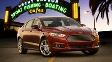 Ford hopes its all-new Fusion can emerge as a sales leader in the crowded mid-size vehicle market. (Ford)