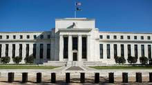 The Federal Reserve Building stands in Washington, in this April 3, 2012 file photo. The Federal Reserve on July 31, 2012 begins its two-day meeting to discuss interest-rate policy. (Joshua Roberts/REUTERS)