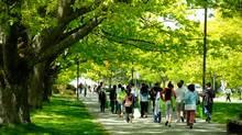 Many students at UBC are commuters which means paying attention to how to enhance their experience on campus. (Tim Lai)