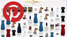 This is what a fake Pinterest account looks like, the same items are pinned over and over. (Pinterest.com)