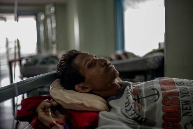 Juan Coronel had HIV for years, he told me, but by the time he was sick enough to need anti-retrovirals, Venezuela's HIV/AIDS program was chronically short of medications. He died on June 19.