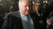 Rob Ford has rail against 'rich, elitist people.' (Fernando Morales/The Globe and Mail)