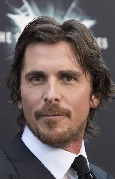 Hi. Christian Bale here. Remain calm. Come a little closer. Don't be scared. I won't hurt you. (Reuters)
