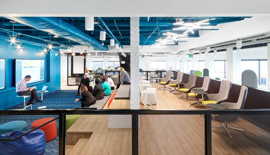 This Is An Insurance Office? A Look Inside Aviva's