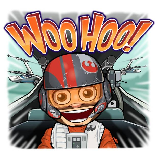 Personalized Star Wars emojis have arrived: May the face be