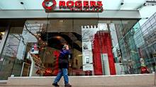 A Rogers Wireless retail store in Vancouver (DARRYL DYCK/THE CANADIAN PRESS)