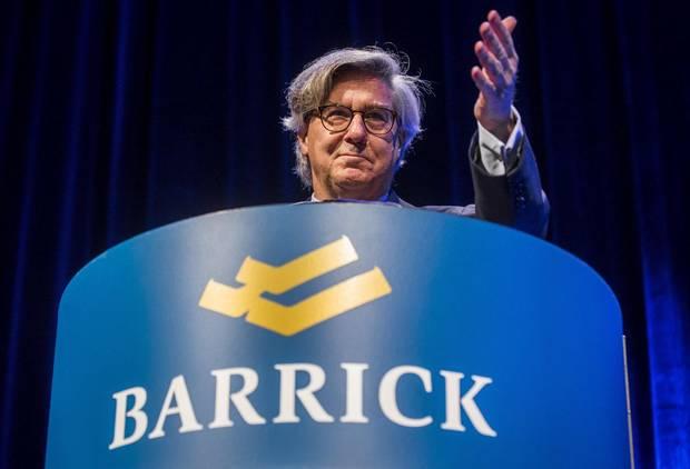 Barrick Gold Corp. chairman John Thornton.