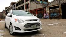 The Focus is small, fuel-efficient, and built on a platform that allows Ford to produce many different cars from the same underpinnings. (Peter Cheney/The Globe and Mail)
