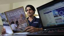 Gregory Luciani of Travel Only, sees the downturn as an opportunity to get good deals on European trips. (Fred Lum/Fred Lum/The Globe and Mail)