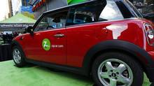 ZipCar is one of several car-sharing services available in Toronto. (MIKE SEGAR/REUTERS)