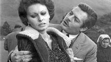 "Marcello Mastroianni and Sophia Loren in a scene from ""Marriage Italian Style"" (AP)"