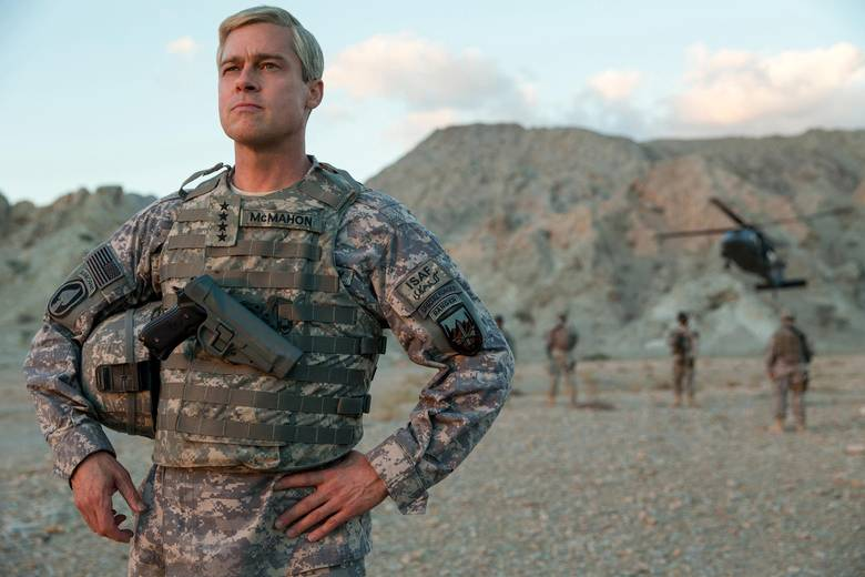 War Machine, starring Brad Pitt, is Netflix's splashiest original production to date.