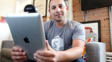 Harley Finkelstein, Shopify chief platform officer. (DAVE CHAN FOR THE GLOBE AND MAIL)