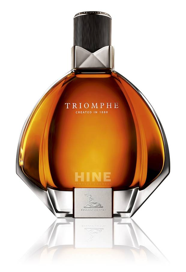 TASTING NOTES: Hine Triomphe cognac – raw honey, vanilla sugar and caramel. Price: $1,009.