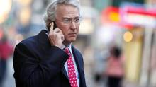 Chesapeake Energy Corp. CEO Aubrey McClendon walks through the French Quarter in New Orleans, Louisiana in this March 26, 2012 file photo. (SEAN GARDNER/REUTERS)