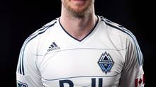 The Vancouver Whitecaps logo is seen in this file photo. (THE CANADIAN PRESS)