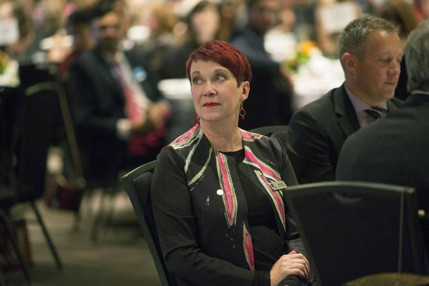 Ruth Kelly at a United Way event in 2015.