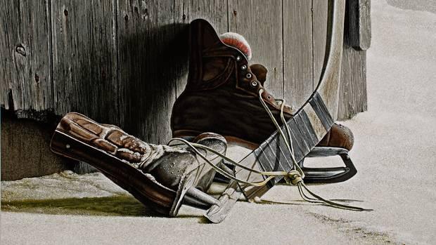 Ken Danby, The Skates, 1972