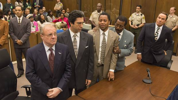 The People v. O. J. Simpson: American Crime Story is unsettlingly camp and then unnervingly raw.