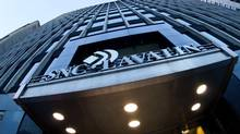 SNC Lavalin offices in downtown Montreal,Quebec. (MARIO BEAUREGARD/THE CANADIAN PRESS)