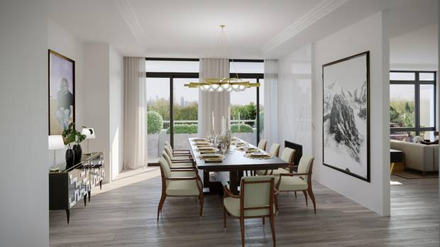 Units will average 2,250 square feet.
