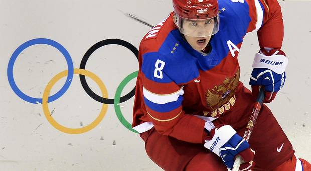 Some players talked about defying their owners and the league and showing up to represent their countries in South Korea -- none more loudly than Ovechkin.