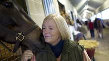Sue Leslie, seen here in April, 2011, is the president of the Ontario Horse Racing Industry Association. (Peter Power/The Globe and Mail/Peter Power/The Globe and Mail)