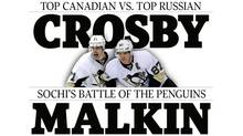 Sochi: Crosby, Malkin Will Be Bitter Rivals Who Figure Prominently In Their Team's Hockey Fortunes
