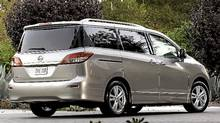 2012 Nissan Quest (Mike Ditz/Nissan)