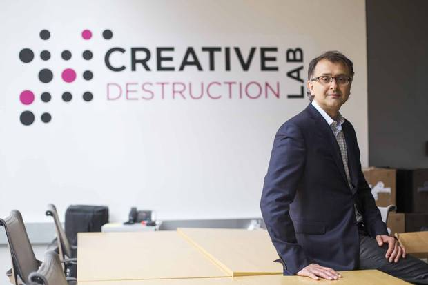 Agay Agrawal, founder of the Creative Destruction Lab.
