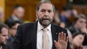 Video: Mulcair calls government funding of anti-gay group 'indefensible'
