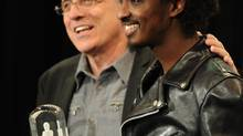 Producer Bob Ezrin (left) with K'Naan. (Kevin Van Paassen/The Globe and Mail)