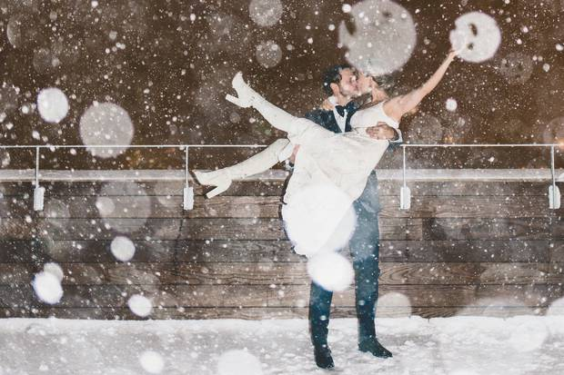 Behind the scenes with Canadian bride Mosha Lundström Halbert for an exclusive look at how her nuptials on New Year's Eve in wintry Reykjavik, Iceland came to be.