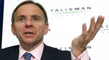 Talisman CEO John Manzoni (Jeff McIntosh)