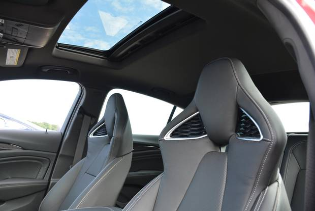 The GS comes with unique perforated seats that look great and feel comfortable.