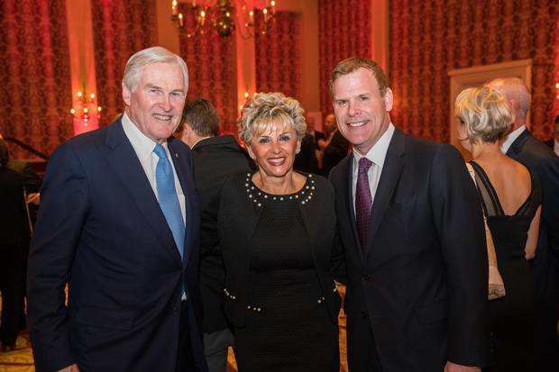 Michael Wilson, Rebecca MacDonald and John Baird.
