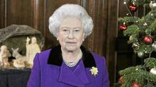 The Queen makes her annual pitch for the monarchy in her 2010 Christmas address. (REUTERS/REUTERS)