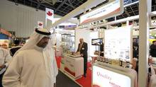 More than a dozen Canadian agri-food exporting firms attended the Gulfood international food expo in February in Dubai. (Reuters/Reuters)