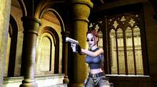 "This undated handout from Eidos Interactive, shows a screenshot of character Lara Croft in the game ""Tomb Raider: Angel of Darkness,"" the sixth title in the ""Tomb Raider"" series. (AP)"