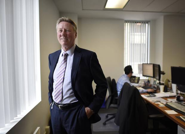 Gary McDonald, CEO of Cambridge Global Payments, at the company's Toronto offices.