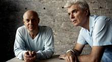 David Byrne: The musician lamented, in a book of essays, that his recent albums would once have been considered modest successes but now no longer earn him enough to sustain his musical project. (Danny Clinch/AP)