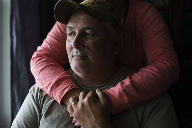 Retired master corporal Darrell McMullin was diagnosed with PTSD in 2004, but he didn't seek help after his son's suicide in 2011.