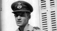 Ian Maclennan is shown after he spent more than three months in Malta in 1942. The stripes on his epaulet show he has been promoted to Flight Lieutenant. (WAYNE RALPH)
