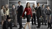 Chris Noth and Julianna Margulies in The Good Wife (CBS)