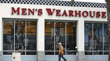 Men's Wearhouse successfully navigated recession and shift to more European style, but customer reaction to George Zimmer's firing reads negative. (LUCY NICHOLSON/REUTERS)