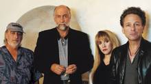 The members of Fleetwood Mac in 2003.