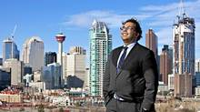 Newly elected Calgary Mayor Naheed Nenshi. (Chris Bolin for The Globe and Mail/Chris Bolin for The Globe and Mail)