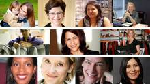 composite image of the women from the Next Steps Program for Experienced Women Entrepreneurs, Initiative for Women in Business, Rotman School of Management